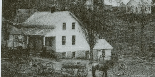 Master Hotel built by Samuel Belding in 1851