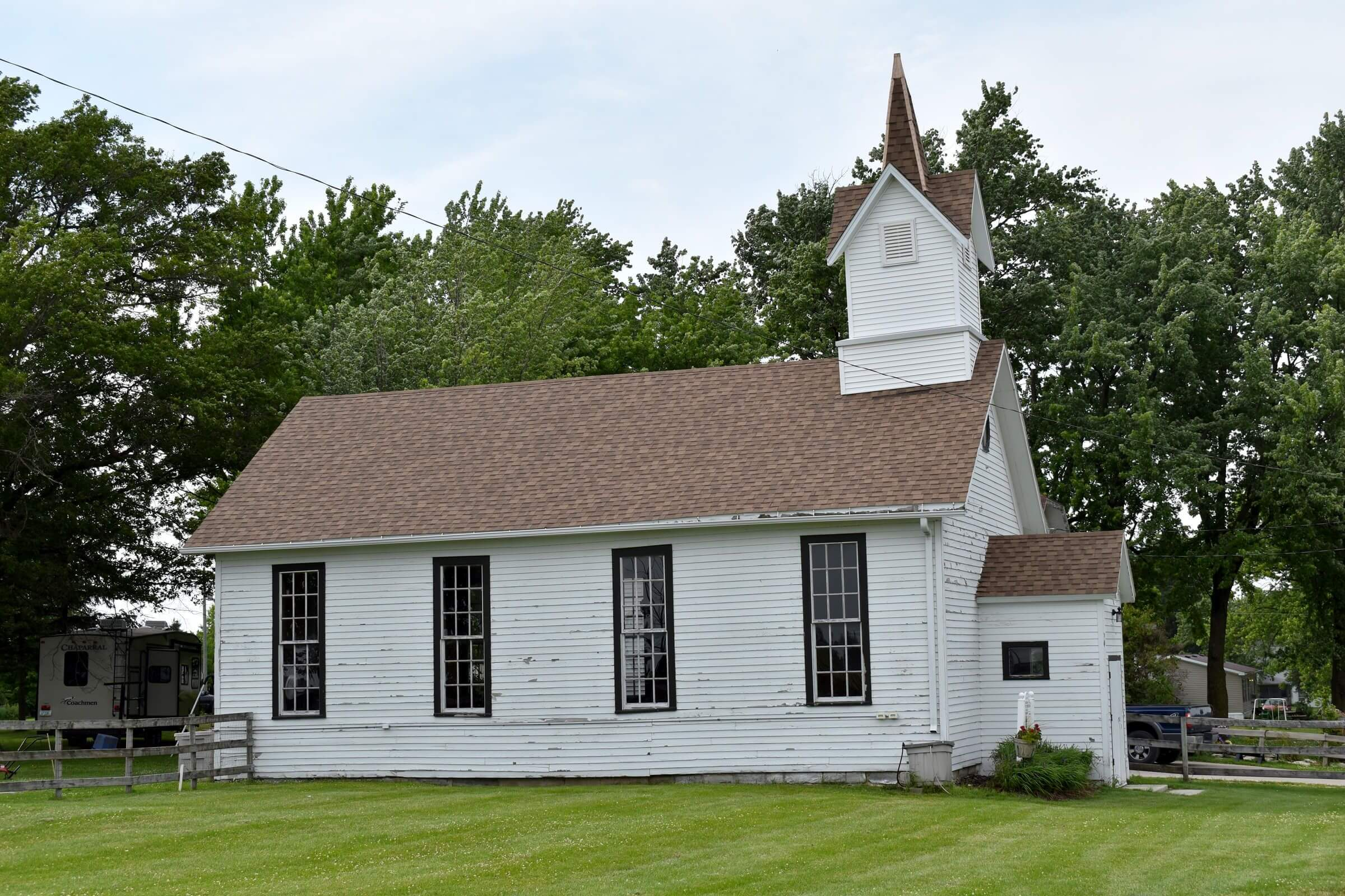Advent Church located in Burr Oak, Iowa