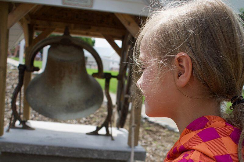 Burr Oak Congregational Church Bell