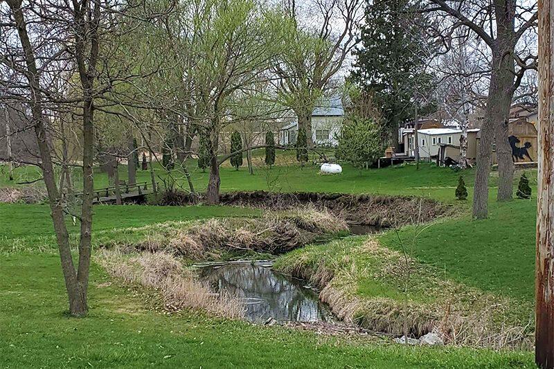 Silver Creek's creek bed